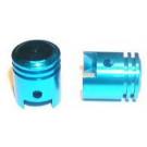 Ventieldopset 'zuiger' blauw 12x15mm