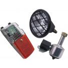 Verlichtingset ATB - koplamp en Achterlicht met dynamo inclusief kabels Edge
