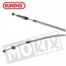 Versnelling kabel Zundapp +15cm grijs