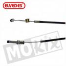 Versnelling kabel Zundapp +15cm zwart