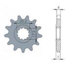 Voortandwiel Minarelli-AM-6V 13 tanden (20.2mm)