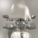 Windscherm bevestigingsset Piaggio beverly >2010 125cc 200cc 250cc 300cc