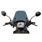 Windscherm Piaggio Zip-2000 Laag Smoke - Origineel - Incl. bevestigingset