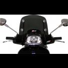 Windscherm met montageset Vespa  Sprint 50cc 125cc 150cc 2014 donker smoke laag model