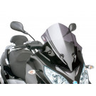 Windscherm met montageset Puig V-Tech Sport dark smoke geschikt voor Piaggio MP3 300ie LT Sport 2014
