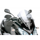 Windscherm met montageset Puig V-Tech Sport smoke geschikt voor Piaggio MP3 300ie LT Sport 2014