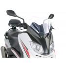 Windscherm met montageset Puig V-Tech Sport transparent / helder geschikt voor Yamaha X-Max 125i ABS