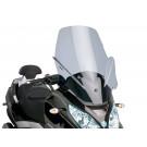 Windscherm met montageset Puig V-Tech Touring dark smoke geschikt voor Piaggio MP3 Touring 400ie 201