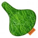 Zadeldek BIKECAP groen gras
