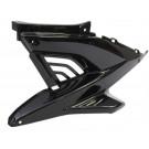 Zijscherm midden Yamaha Aerox links zwart metallic